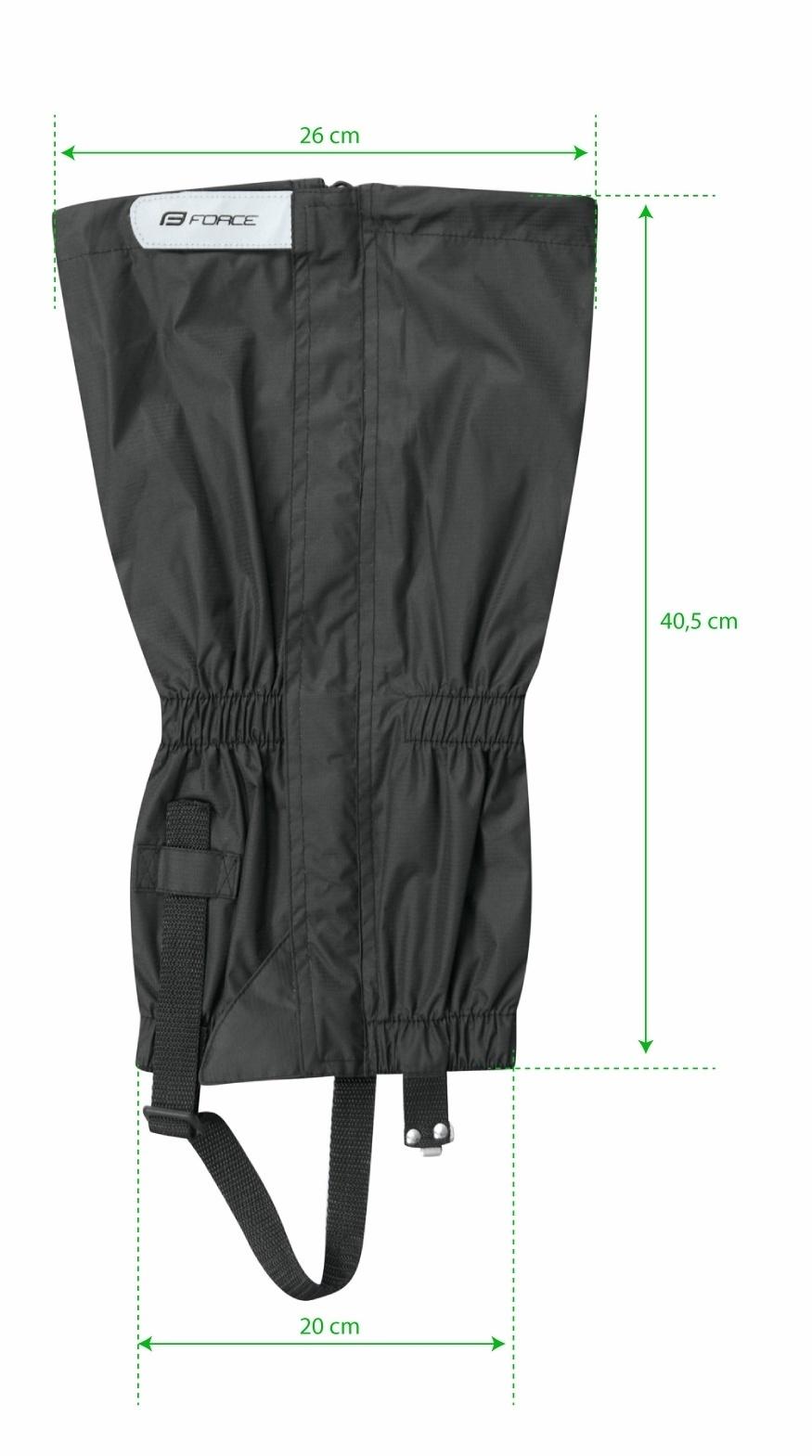 9d8d855ce6 Force návleky na boty SKI RIPSTOP
