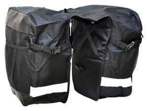 Profil brašna na zadní nosič SAHOO-C 2-kapsá 28l
