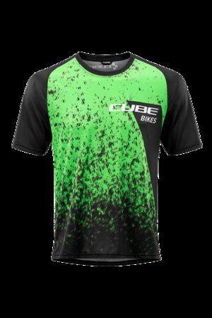 Cube dres EDGE black/green