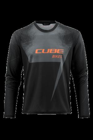 Cube dres EDGE dlouhý rukáv black/orange