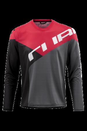Cube dres EDGE dlouhý rukáv black/red