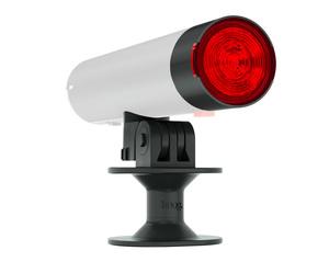 Knog zadní světlo s držákem na helmu RED CAP pro PWR Charger