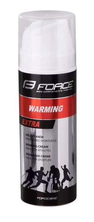 Force krém hřejivý WARM dávkovač 150 ml