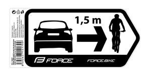 Force nálepka SAFETY na auto 184 x 84 mm