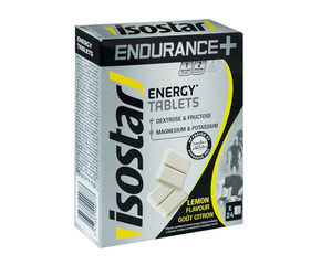 Isostar ENERGY ENDURANCE+ tablety 24x4g citron