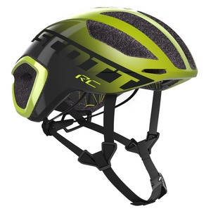 Scott cyklistická helma CADENCE PLUS radium yellow/dark grey