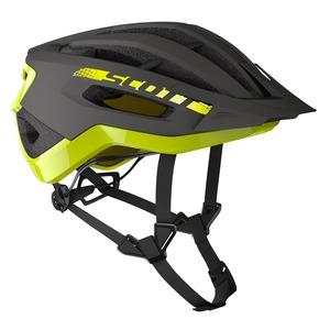 Scott cyklistická helma FUGA PLUS REV dark grey/radium yellow