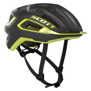 Scott cyklistická helma ARX PLUS dark grey/radium yellow