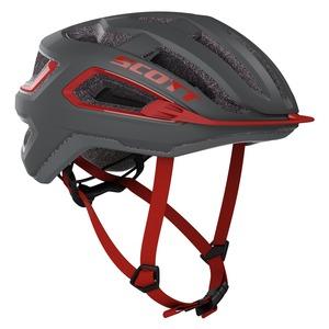 Scott cyklistická helma ARX dark grey/red