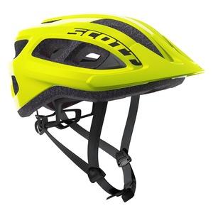 Scott cyklistická helma SUPRA yellow fluorescent