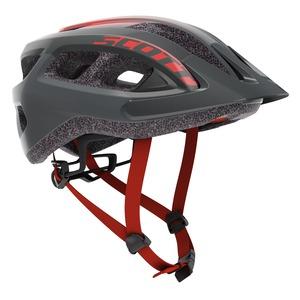 Scott cyklistická helma SUPRA grey/red fade