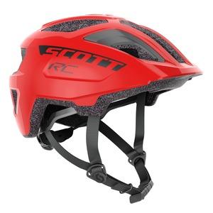 Scott dětská cyklistická helma SPUNTO JUNIOR PLUS florida red