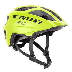 Scott dětská cyklistická helma SPUNTO JUNIOR PLUS radium yellow RC