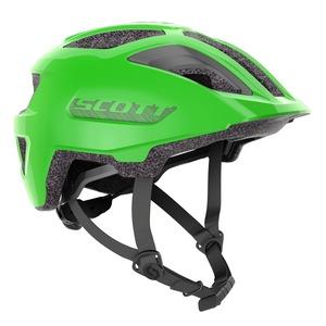 Scott dětská cyklistická helma SPUNTO JUNIOR PLUS smith green