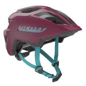 Scott dětská cyklistická helma SPUNTO JUNIOR deep purple