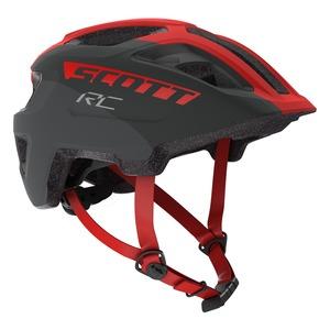 Scott dětská cyklistická helma SPUNTO JUNIOR grey/red RC