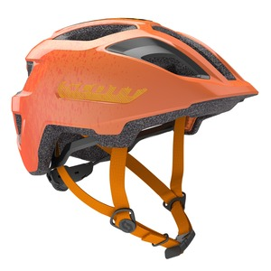 Scott dětská cyklistická helma SPUNTO JUNIOR fire orange