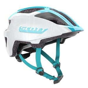 Scott dětská cyklistická helma SPUNTO JUNIOR pearl white/breeze blue