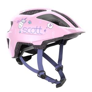 Scott dětská cyklistická helma SPUNTO KID light pink
