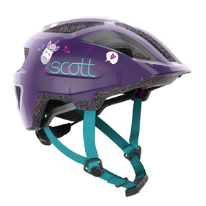 Scott dětská cyklistická helma SPUNTO KID deep purple/blue