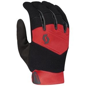 Scott rukavice ENDURO LF black/fiery red