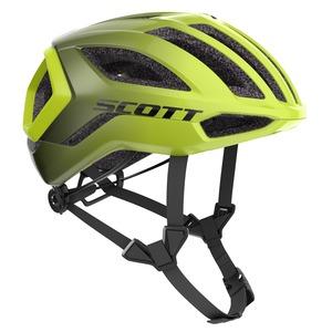 Scott cyklistická helma CENTRIC PLUS radium yellow RC