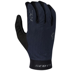 Scott cyklistické rukavice RC PREMIUM KINETECH LF midnight blue/dark grey