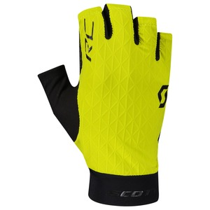 Scott cyklistické rukavice RC PREMIUM KINETECH SF sulphur yellow/black