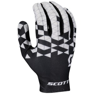Scott cyklistické rukavice RC TEAM LF black/white