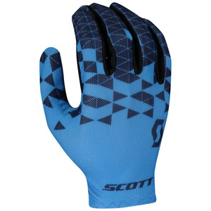 Scott cyklistické rukavice RC TEAM LF atlantic blue/midnight blue