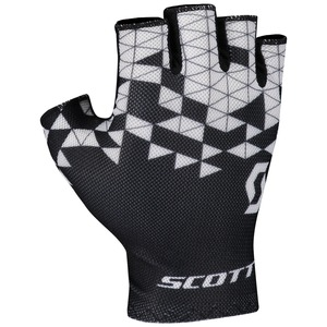 Scott cyklistické rukavice RC TEAM SF black/white