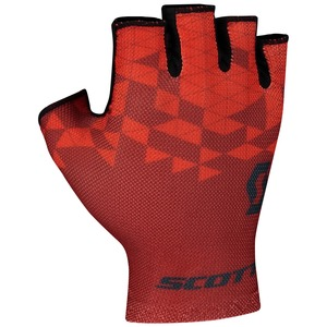 Scott cyklistické rukavice RC TEAM SF fiery red/dark grey
