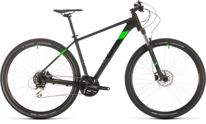 Cube horské kolo AIM RACE black flashgreen