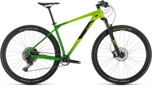 Cube horské kolo REACTION RACE green black