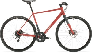 Cube fitness kolo SL ROAD red grey