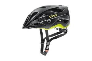 Uvex helma ACTIVE CC black-yellow mat