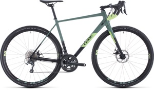Cube gravel kolo NUROAD PRO black sharpgreen
