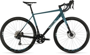 Cube gravel kolo NUROAD RACE black greyblue