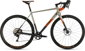 Cube gravel kolo NUROAD SL titanium orange