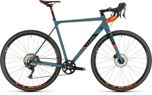 Cube cyklokrosové kolo CROSS RACE SL bluegrey orange