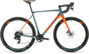 Cube cyklokrosové kolo CROSS RACE C:62 SLT bluegrey orange