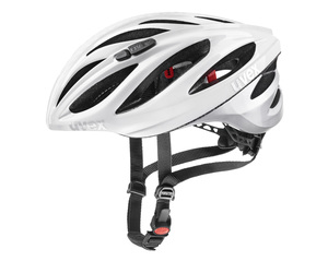 Uvex helma BOSS RACE white silver