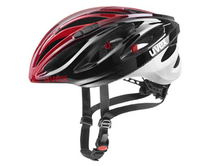Uvex helma BOSS RACE black red