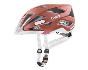 Uvex helma CITY ACTIVE goji mat