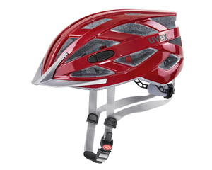 Uvex helma I-VO 3D riot red
