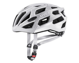 Uvex helma RACE 7 silver mat white