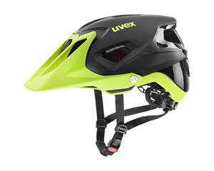 Uvex helma QUATRO INTEGRALE black lime