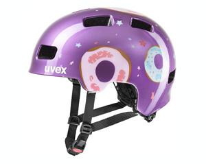 Uvex helma HLMT 4 purple donut