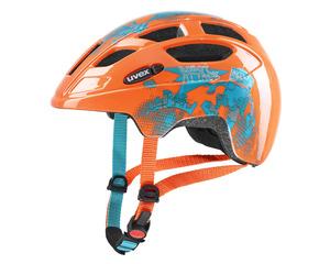 Uvex helma FINALE JUNIOR orange robots