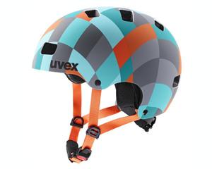 Uvex helma KID 3 CC green checkered